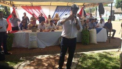 Alegre promete reactivar la agricultura familiar