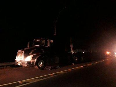 Senad intercepta camión repleto de droga