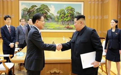 """Surcorea aseguró que Kim Jong-un """"ha dado su palabra"""" para la desnuclearización"""