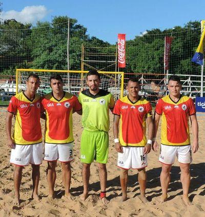Ya están los ocho mejores de Liga Nacional de Playa