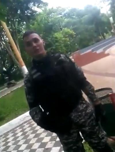 Trans consiguió vídeo de ataque de agente del grupo Lince