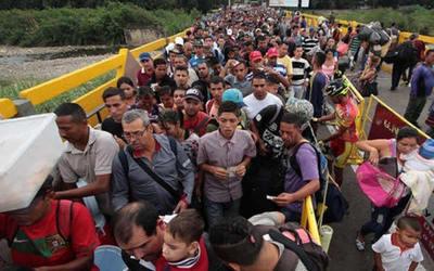 EE.UU destina US$ 2,5 millones para asistir a venezolanos que huyen a Colombia