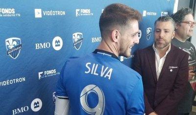 Alejandro Silva fue presentado en Montreal Impact