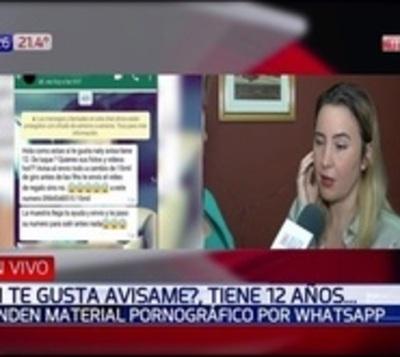 Ofrecen pornografía infantil vía Whatsapp a cambio de 'saldo'