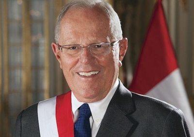 El presidente peruano declaró so'o y se fue