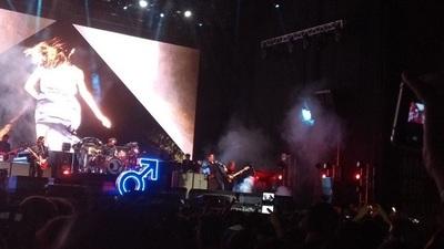 The Killers, con majestuoso y épico show, cerró segunda jornada del Asuncionico