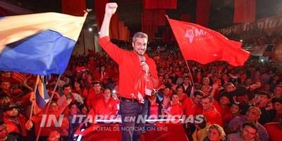 GIRA DEL PRESIDENCIABLE MARIO ABDO EN ITAPÚA