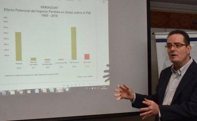 Itaipú: Paraguay perdió USD 111.000 millones de PIB, asevera experto