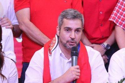 Abdo Benítez confía en que Partido Colorado tendrá 20 senadores