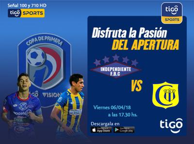 Capiatá contra Independiente CG, en el arranque de la fecha 11
