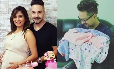 """Nació """"Farah"""" La Hija De Mariela Bogado Y Fernando Eid"""