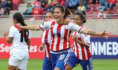 Albirroja femenina golea y logra primer triunfo en Copa América