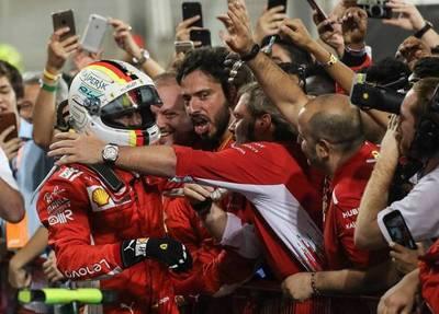 F1: Vettel refuerza su liderato en Baréin