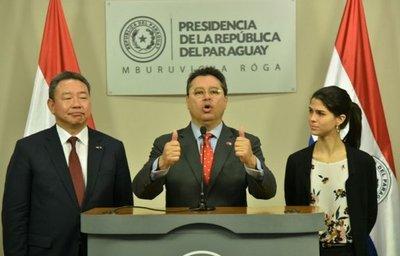 Paraguay y Taiwán repasan relaciones al término de misión