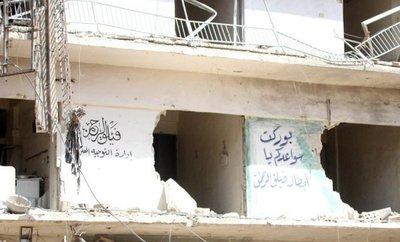 Condenan ataque químico en Siria