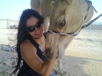 Norita piropeó al príncipe de Qatar