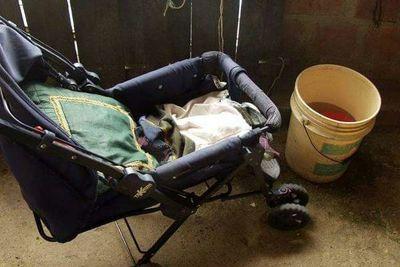 Bebé murió ahogado en un balde