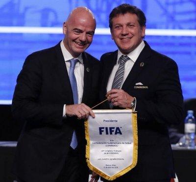 Conmebol pide 48 equipos para Catar y FIFA lo analiza
