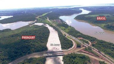 Gobierno negocia con Brasil un tercer puente