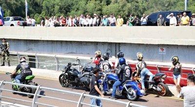 CDE: Inauguran la primera avenida de motosenda