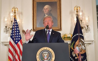 """Trump sobre el bombardeo a Siria: """"Fue un golpe perfectamente ejecutado"""""""