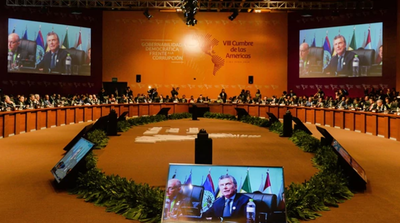 Líderes americanos aclaman la promesa anticorrupción que exige más cooperación
