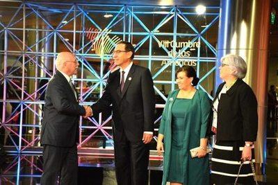 Canciller en la Cumbre de las Américas