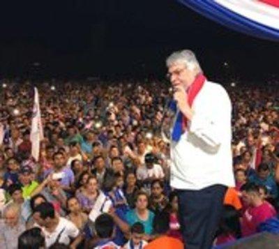 Lugo promete recuperar millones de tierras malhabidas