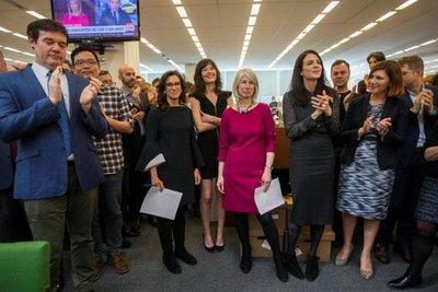 NYT y The New Yorker ganan Pulitzer por caso Weinstein