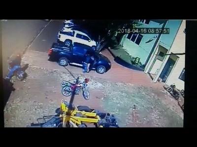 VIDEO: Así fue el robo en la Municipalidad de Cambyreta