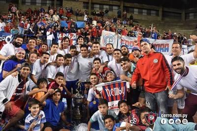 Cerro se pone a punto para su debut en Futsal Libertadores