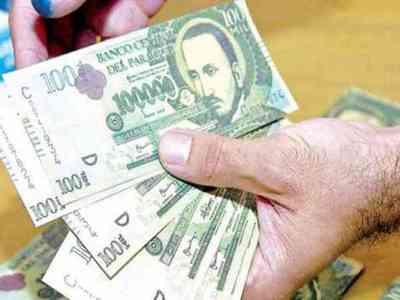Piden juicio para hombre que falsificó billetes de G.100 mil