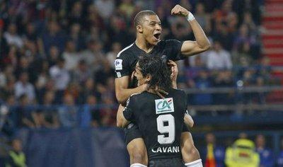 Mbappé conduce al PSG a la final de la Copa de Francia