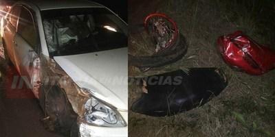 JOVEN TERMINA CON POLITRAUMATISMO GRAVE TRAS ACCIDENTE SOBRE LA RUTA 6.
