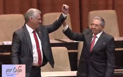 Díaz-Canel reivindica el legado de los Castro tras ser elegido presidente de Cuba