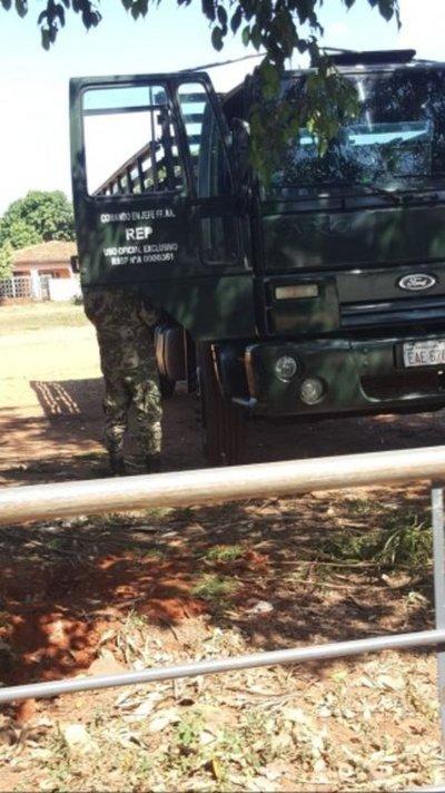 Militares trabajan para cierre de campaña de Marito