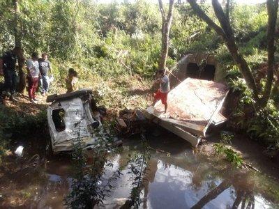 Dos fallecidos en accidente en Itapúa