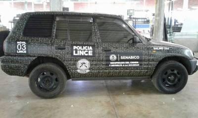 """Nuevos vehículos para los Linces que """"antes se usaban para el crimen"""""""