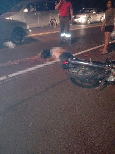 Accidente fatal sobre la supercarretera Itaipu
