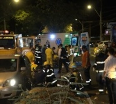 Hombre muere tras terrible accidente en Asunción