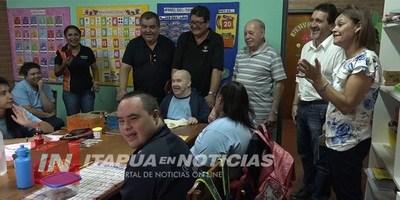 COMERCIANTES DE LA ZONA ALTA DONAN EQUIPOS AL CENADE.