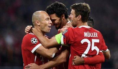 El Bayern golea al Hannover a domicilio antes de la visita del Real Madrid
