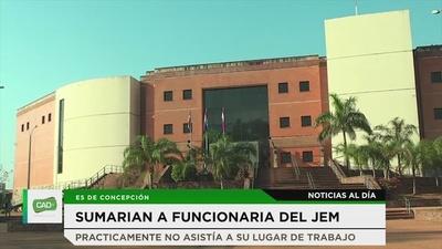 Concepción: Sumarian a funcionaria del JEM