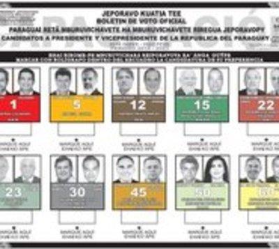 Los diez candidatos que aspiran a sentarse en el sillón de López