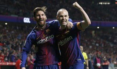 Messi es el mejor, pero Iniesta es el jugador más importante