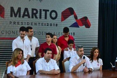 Marito apela a unidad nacional
