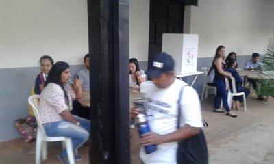 Se inician votaciones en Santaní