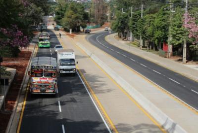 Metrobús: Habilitan ruta Mcal. Estigarribia frente a la UNA