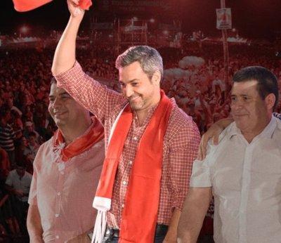 Marito es electo presidente del Paraguay
