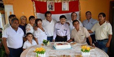 Ex combatiente cumple 104 años en Carmen del Paraná